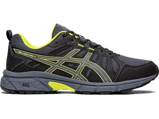ASICS Men's Gel-Venture 7 Running Shoes, 7M, Metropolis/Safety Yellow