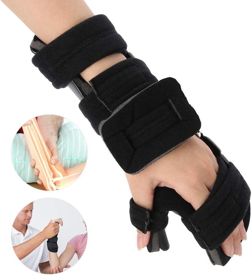 Muñequera Férula Estabilizador Correa Brace Apoyo Artritis Túnel Carpiano ayuda de la muñeca promueve la recuperación rápida de lesión de la mano(Izquierda M)