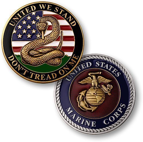 Dont Tread Me Marines Challenge