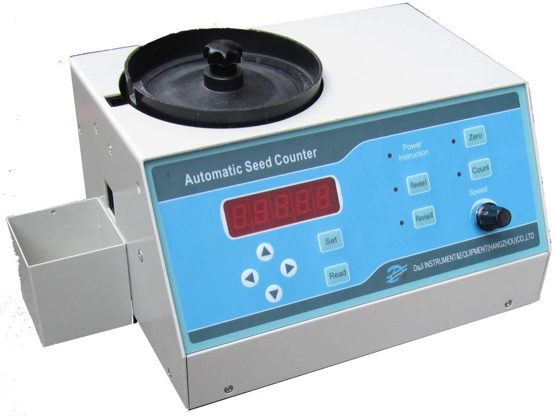 YUCHENGTECH Automatic Seed Counting Machine LED Counter for Various Shapes S/M Seeds (Sly-A, 220V)