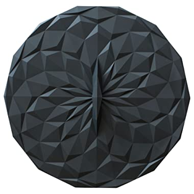 GIR: Get It Right Premium Silicone Round Lid, 12.5 Inches, Black
