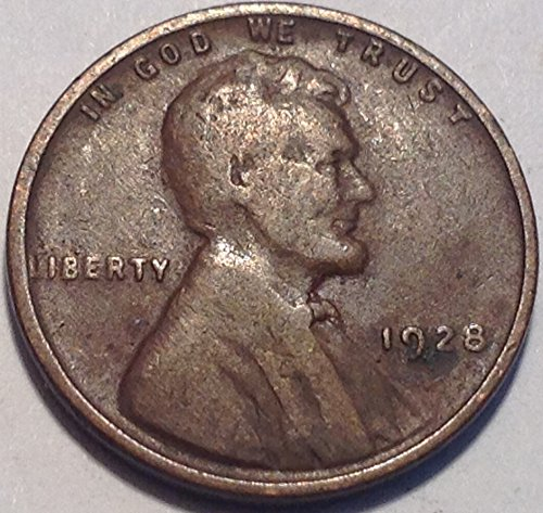 1928 Lincoln Wheat Cent Penny Fine