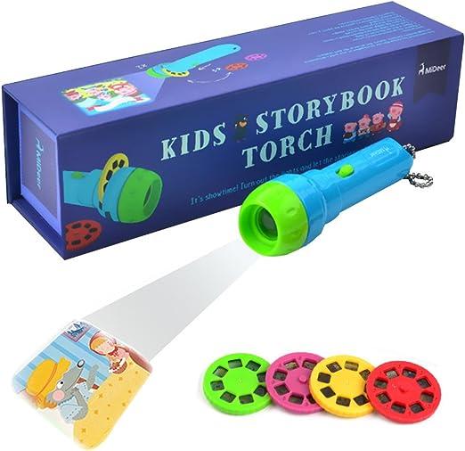 Proyector para niños, Gfordt Story Proyector para linterna Baby ...