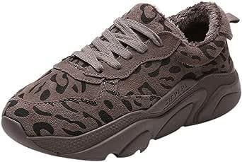 Zapatillas Deportivas de Mujer 2019,YiYLunneo Zapatos Leopardo ...