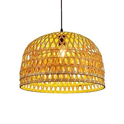 Jumedy Lámpara de bambú Antigua Japonesa - Linternas de ...