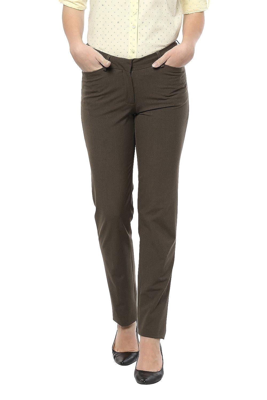 Allen Solly Grey Trousers
