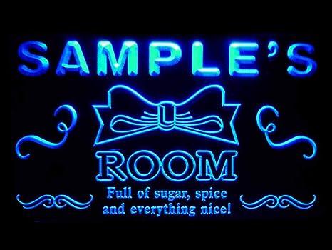 Amazon Com Advpro Pe Tm Name Personalized Custom Girl Princess Room Bar Neon Sign Home Kitchen