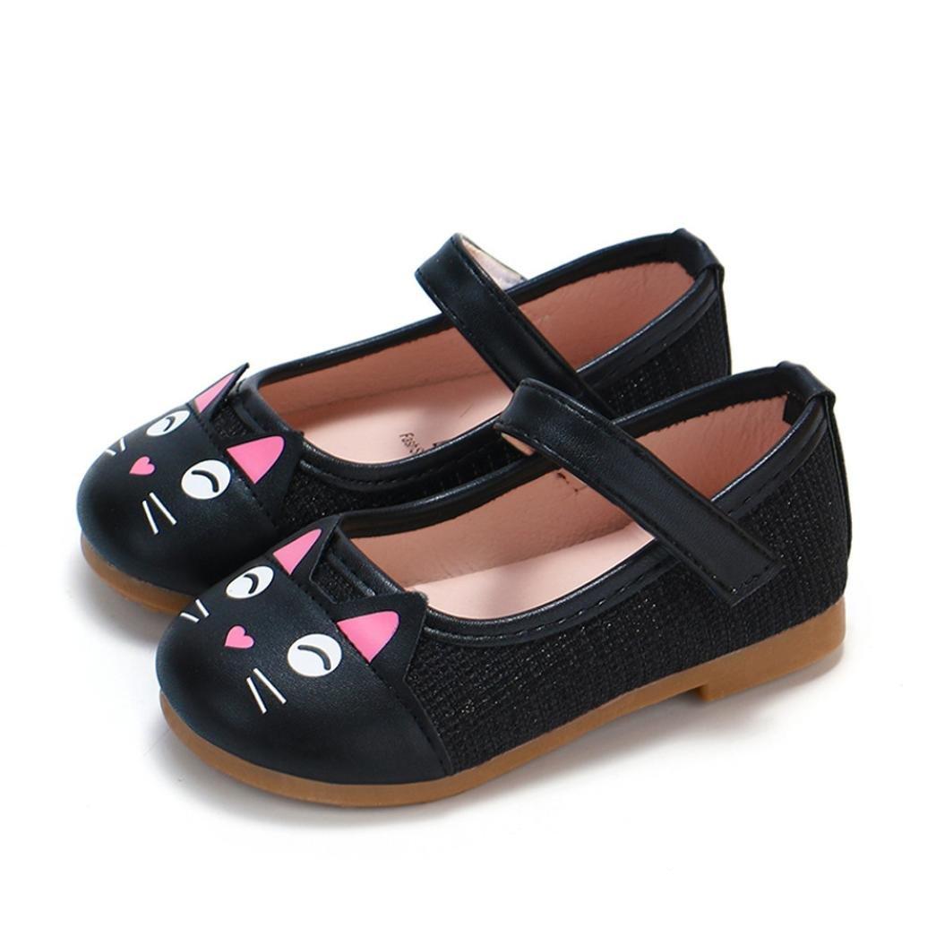 Amazon.com: DEESEE(TM) - Zapatos de princesa de piel, diseño ...