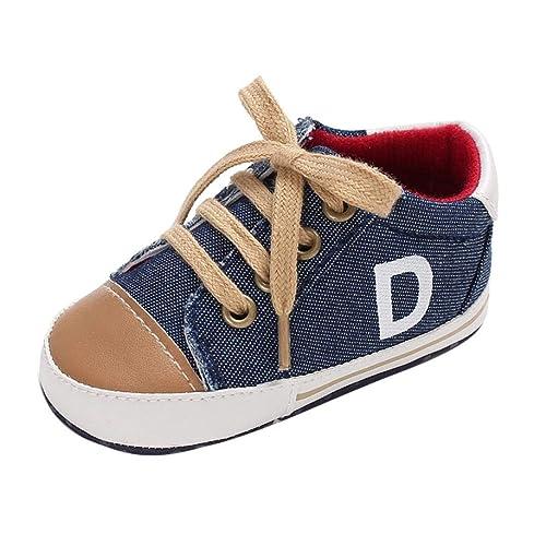 Zapatos de Lona para Bebé Niños Otoño Invierno PAOLIAN Calzado de Primeros Pasos Suela Blanda Antideslizante Bautizo Zapatillas de Deporte Regalo de recién ...