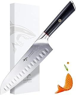 Ebuybest Cuchillos de Cocina Profesionales, Cuchillo Santoku ...