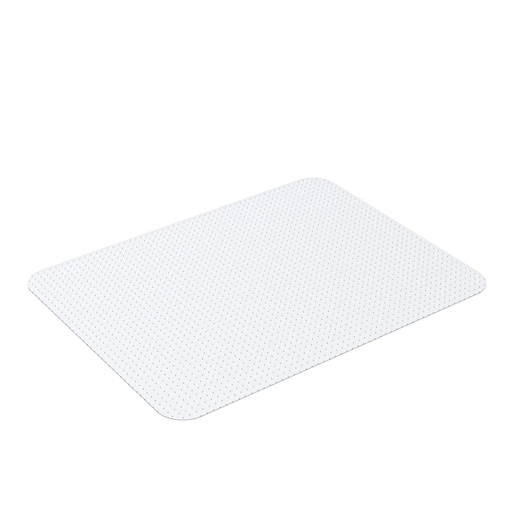 Slypnos 30'' x 48'' Rectangular Clear PVC Chair Mat for Office Home and Study