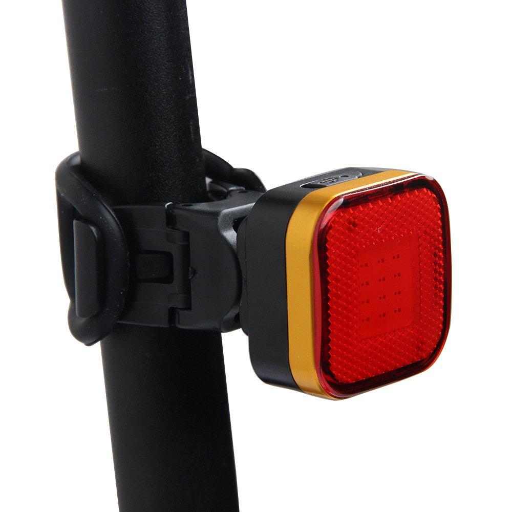 Exclusky Luci per Bicicletta MTB Ricaricabili per Bici con Luce Posteriore Ricaricabile Luci ad Alta luminosità