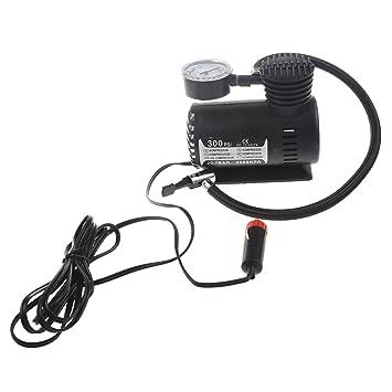 SODIAL 12V Bomba electrica de auto coche Compresor de aire Inflador portatil de neumaticos 300PSI K590: Amazon.es: Coche y moto