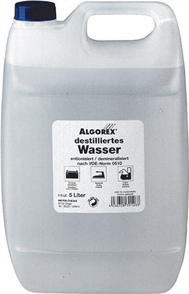 Agua destilada 5L bote: Amazon.es: Bricolaje y herramientas