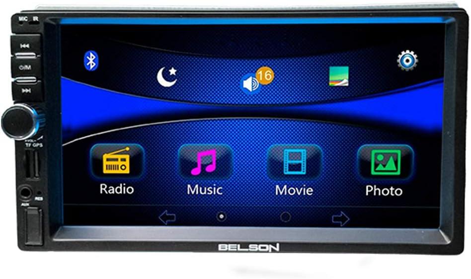 "Belson   BS-260   2 DIN   7"" Pulgadas   Android FM RDS   mirrorlink   USB   SD   Manos Libres Bluetooth   AUX IN de 4x45W."