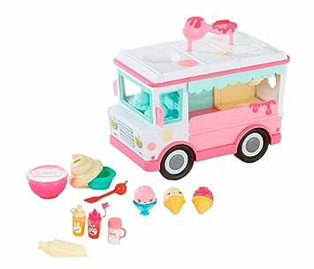 Giochi Preziosi Num noms Playset Camión de los helados, playset para crear Lipgloss