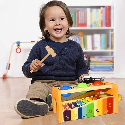 Dreamingbox H/ölzernes Instrument f/ür Kleinkinder