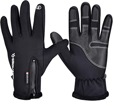 Sports Gloves Waterproof All Fingers Touchscreen Winter Gloves Cycling Gloves
