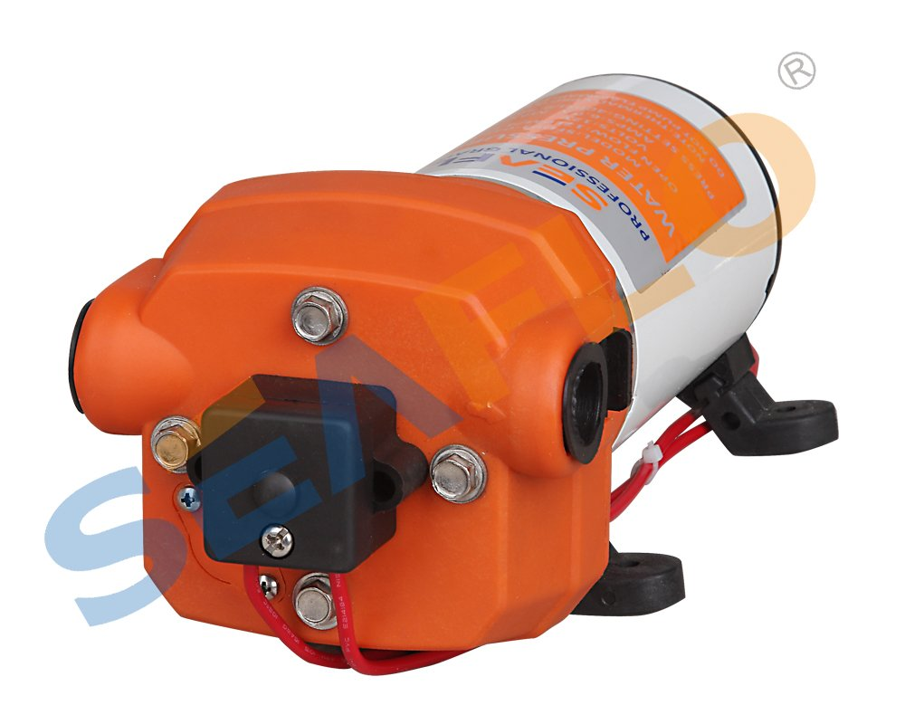 Seaflo 12v Water Pressure Pump 17 L/m 4.5gpm 40psi Motor Home / Caravan / Boat