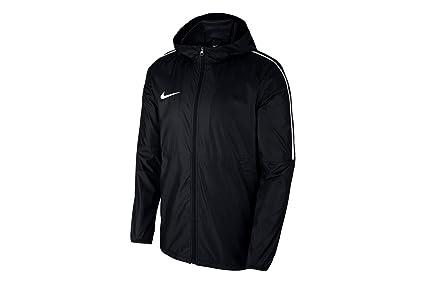 Nike Dry Park 18 Rain Chaqueta, Unisex niños, Black White, XS