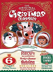 The Original Television Christmas Classics Rudolph The Red-nosed Reindeersanta Claus Is Comin To Townfrosty The Snowmanfrosty Returnsthe Little Drummer Boycricket On The Hearth from Classic Media