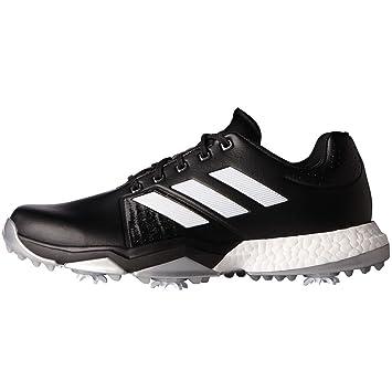 new styles 592d1 82cec adidas Adipower Boost 54 Zapatos de Golf para Hombre, NegroBlancoPlata,  41.3 Amazon.es Deportes y aire libre