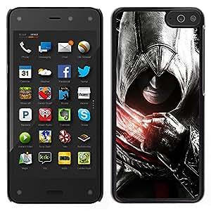 // PHONE CASE GIFT // Duro Estuche protector PC Cáscara Plástico Carcasa Funda Hard Protective Case for Amazon Fire Phone / Asesinos Puño /