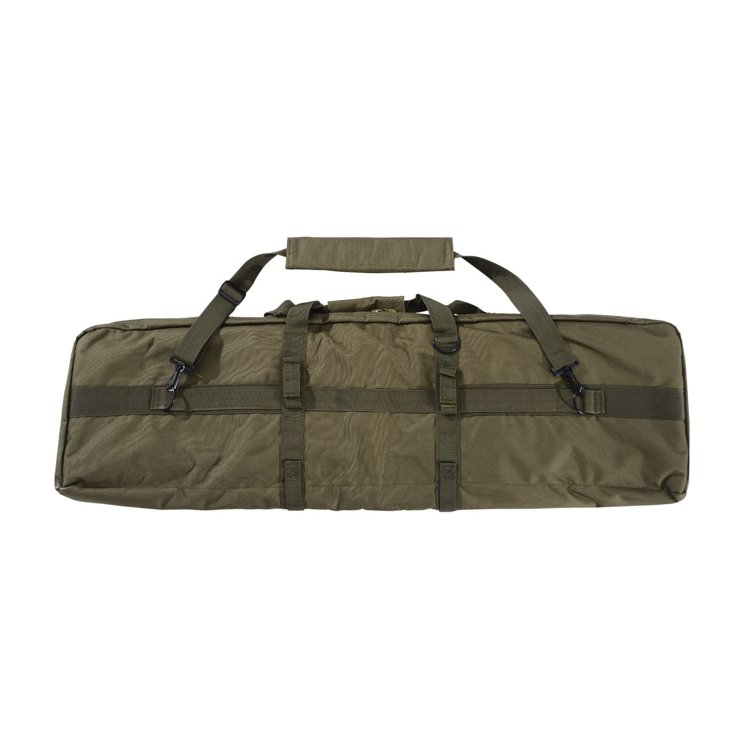 Generic O-8-O-4145-O le Pouc Weapon Gun Molle n Gun M Tactical Single Carbine rbine W 42¡å Padded al Sing Pouch w/Strap ag Case Rifle Bag Case NV_1008004145-TYQFUS32 by Generic
