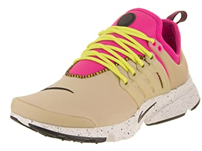 NIKE Women's Wmns Air Presto Ultra SI, Mushroom/Deadly Pink-Black, ...
