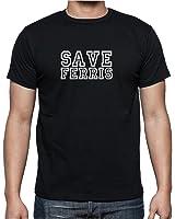 Save Ferris – Mens T Shirt From Rhino And Mugsy
