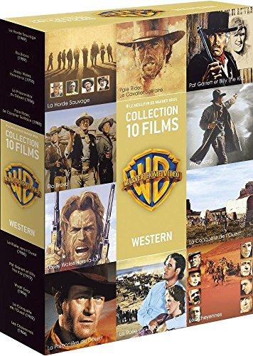 90 ans Warner - Coffret 10 films - Western by