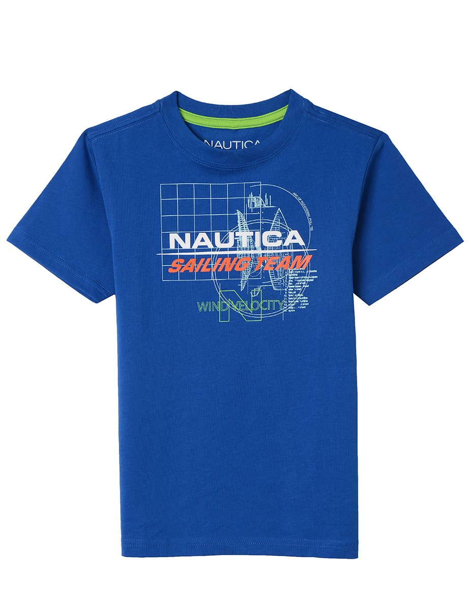 Nautica Boys' Short Sleeve Graphic T-Shirt 83748Q