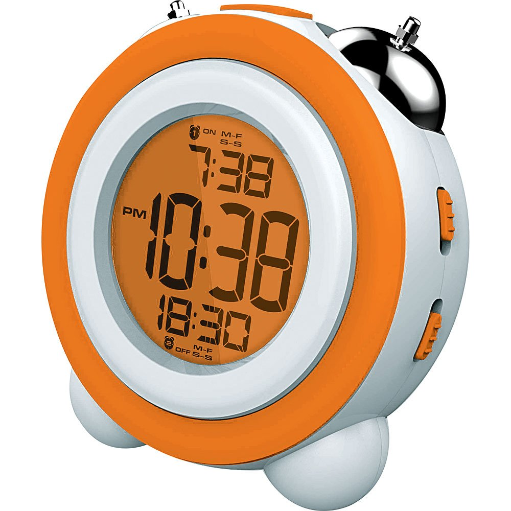Amazon.com: Coby CBC-53-ORG Uprise Led Alarm Clock (Orange ...
