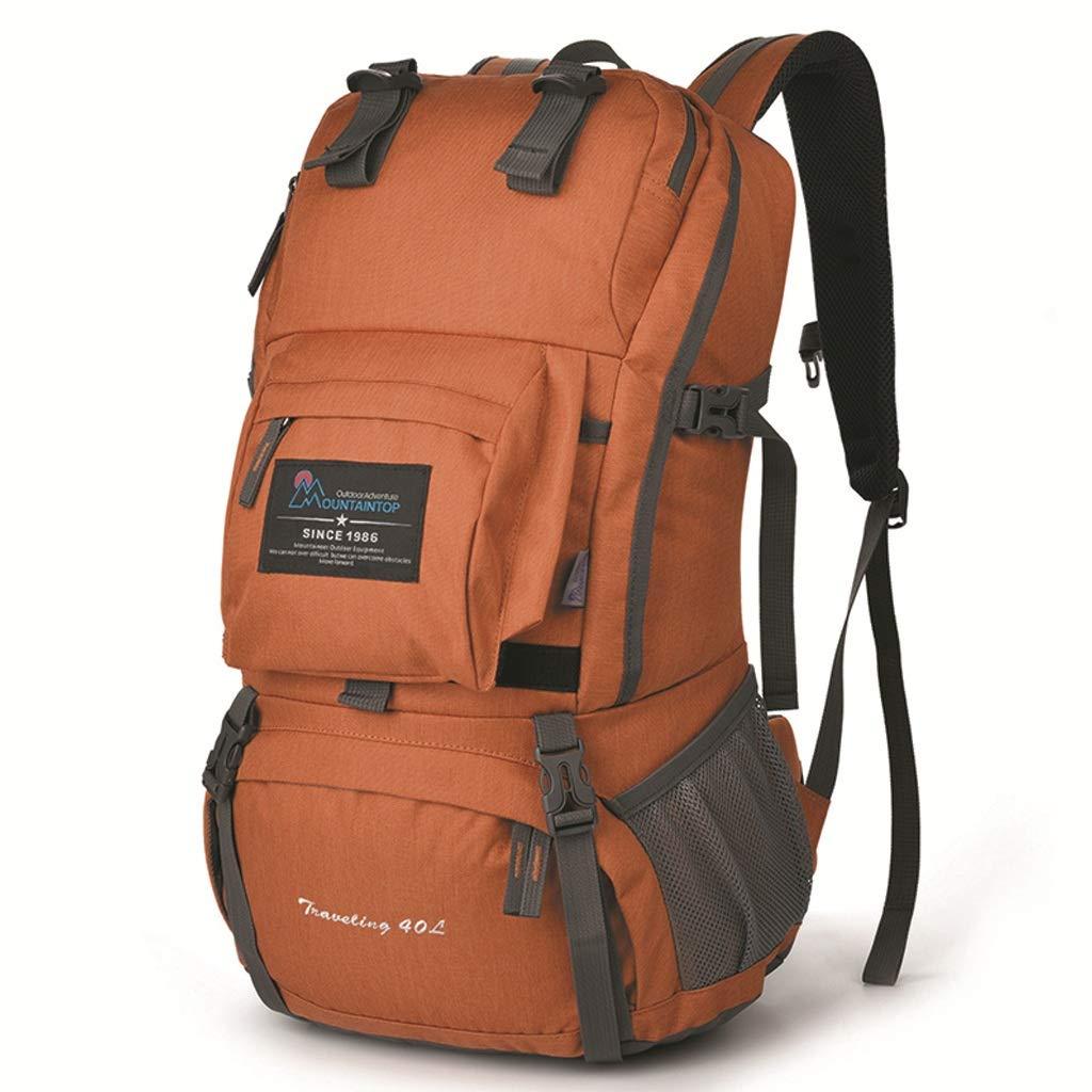 登山バッグショルダー40L旅行バッグハイキングアウトドアバッグ大容量旅行バックパック(青) (色 : B)  B B07GZL2XV9