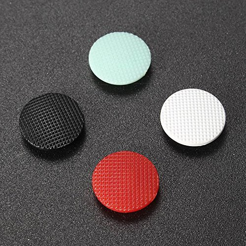 - Replacement 3D Analog Joystick Thumb Button Stick Cap Cover Grips for Sony PSP 1000 (1x Red 1xLight Green 1x Black 1x White)