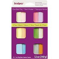 Sculpey S3-VMP6 III Set - Pastel Multi - 12 Pack