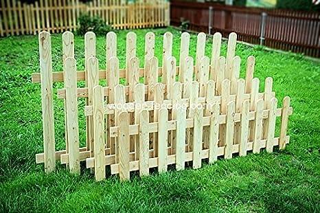 Steccato Giardino Plastica : Larice di 200 x 60 di diritto tipo di recinzione giardino recinto di