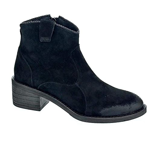 estilo de moda 100% Calidad materiales superiores ALPE Women's 38701105 - Botines Mujer Boots Black 3 UK ...