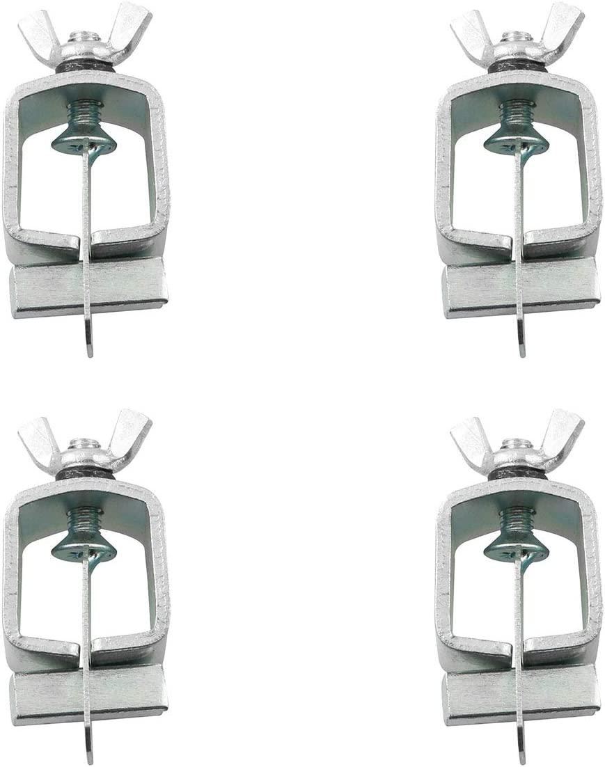 PSCCO 4PCS Butt Welding Clamps Small Welding Clamps Auto Body Panel Clamps for Edge to Edge Welding