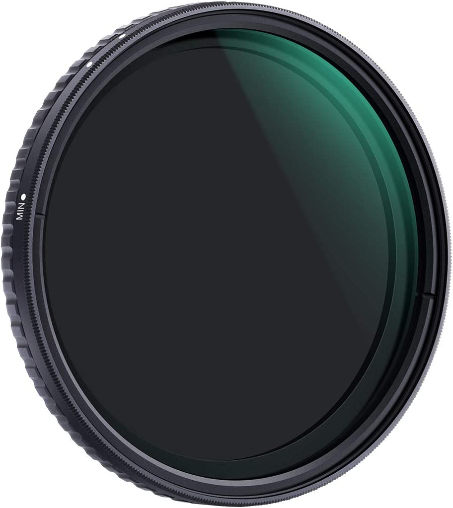 K/&F Concept 72mm ND8 to ND128 Variable Neutral Density Filter Slim Fader ND Filter 3 Stop to 7 Stop ND8-ND128 for Camera Lens NO X Spot Nanotec Ultra-Slim Weather-Sealed