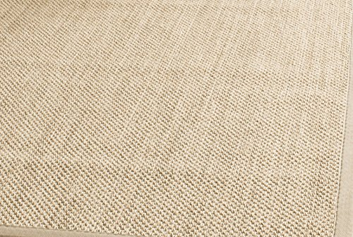Safavieh-Natural-Fiber-Collection-NF141A-Tiger-Paw-Weave-Maize-and-Black-Sisal-Area-Rug-5-x-8