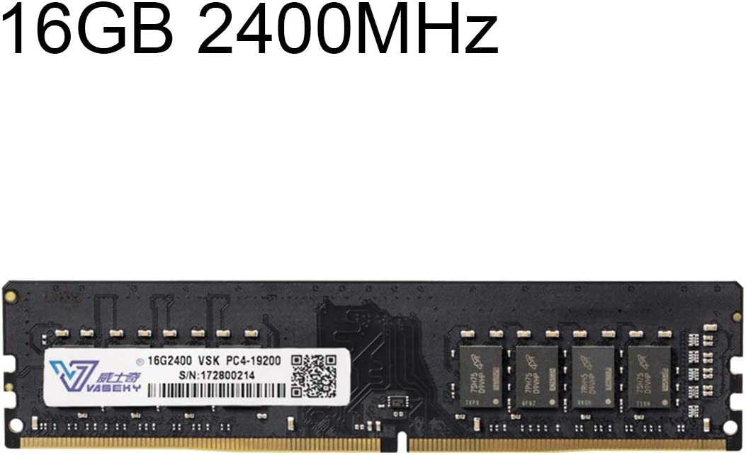 コンピュータアクセサリー デスクトップ用 16GB 2400MHz PC4-19200 DDR4 PCメモリRAMモジュール コンピュータアクセサリー