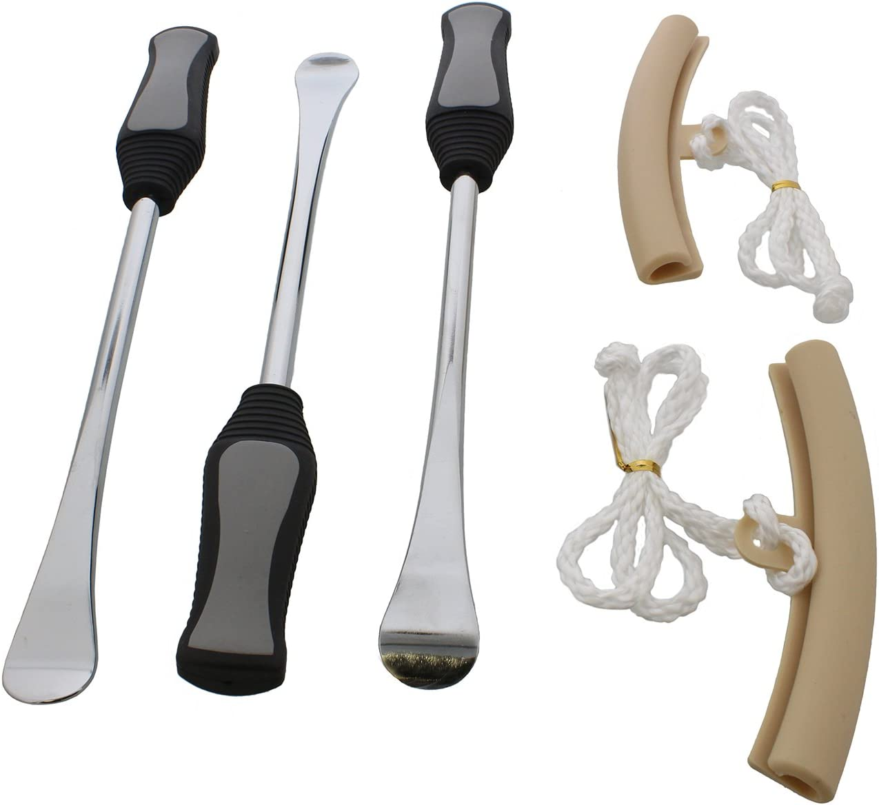 3Pcs Bicycle Repair Tool Tire Pliers Lever Bike Tyre Lever Tool Remove Spoon