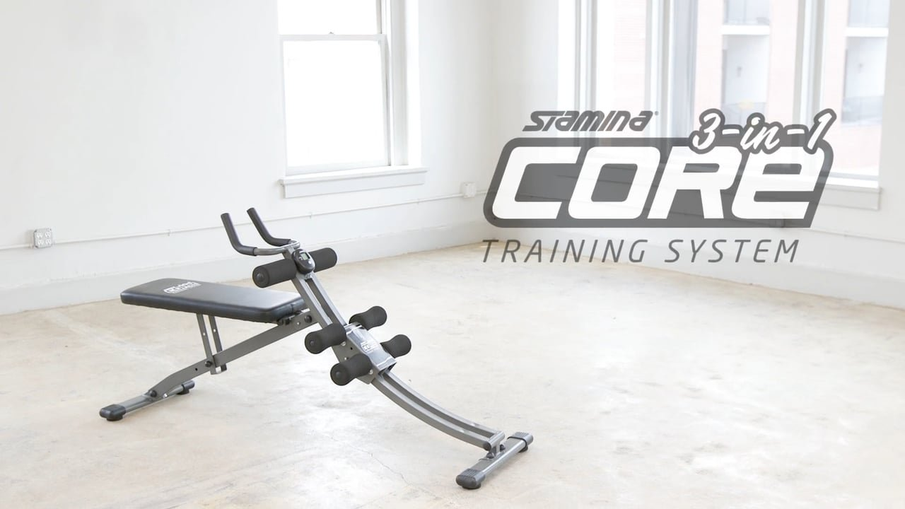 Stamina 3-in-1 Core Training System by Stamina
