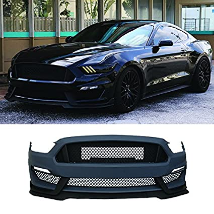 2017 Mustang Gt350 Black >> Amazon Com Front Bumper Conversion Fits 2015 2017 Ford Mustang