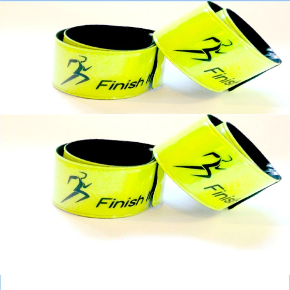 Finish It 4-Packs and Children for Night Safety! Pets Gear Reflective Snap Wrist /& Ankle Pop Bands Reflective Gear for Running 2-Packs Biking Perfect for Walking 6-Packs