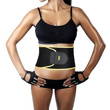 Fitness Ceinture Femme Élastique respirant pour la ceinture gainante ventre  Sangle après naissance Pelvis Correction re 78bc45eb5ea