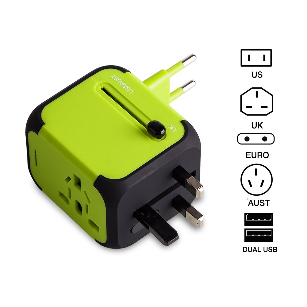 travel to any part of the world power adapter