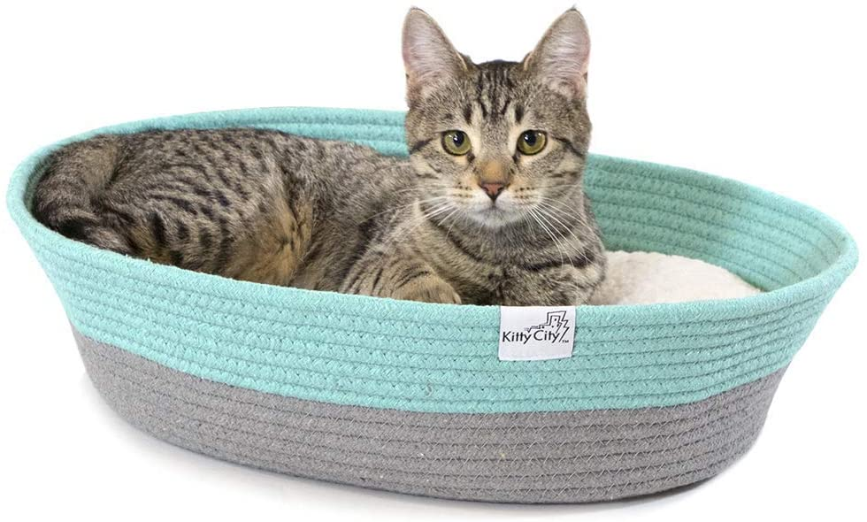Kitty City Cat Bed, Cat House Bed,Sofa Bed, Cat Rope Bed