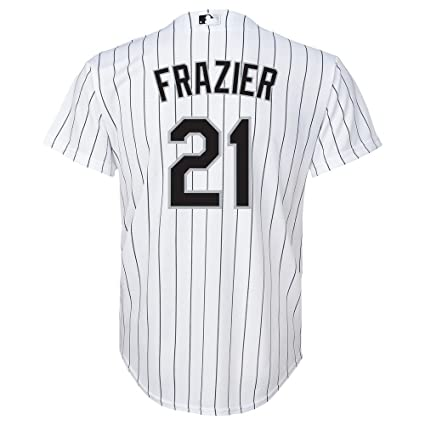 754cd872674 Image Unavailable. Image not available for. Color  Outerstuff Todd Frazier  MLB Majestic Chicago White Sox Cool Base Home Jersey Youth ...